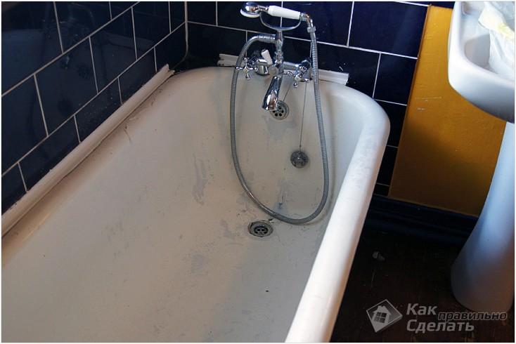 Все просто —  Восстановление эмали ванны  || STROIM-GRAMOTNO.RU