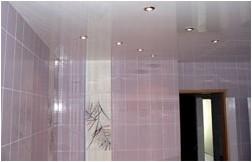Все просто —  Чем полезен натяжной потолок в ванной комнате  || STROIM-GRAMOTNO.RU