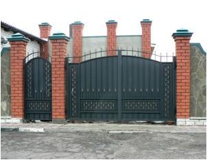 Все просто —  Делаем железные калитки самостоятельно и вместе с воротами  || STROIM-GRAMOTNO.RU