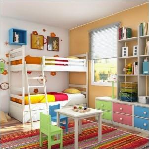 Все просто —  Дизайн интерьера комнаты для ребенка: варианты, подходы, идеи  || STROIM-GRAMOTNO.RU