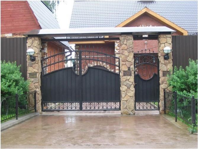 Все просто —  Выбираем дизайн калитки и ворот  || STROIM-GRAMOTNO.RU