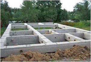 Все просто —  Фундамент для дома со стенами из пеноблока  || STROIM-GRAMOTNO.RU
