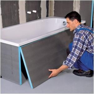 Все просто —  Экраны и каркасы для ванной: изготовление и установка самостоятельно  || STROIM-GRAMOTNO.RU