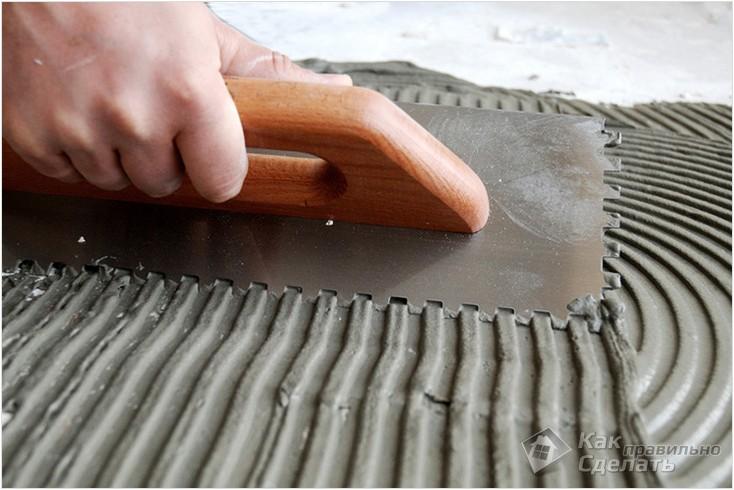 Все просто —  Как очистить плитку от клея  || STROIM-GRAMOTNO.RU