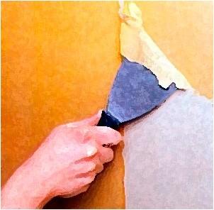 Все просто —  Как отклеить виниловые обои от стен  || STROIM-GRAMOTNO.RU