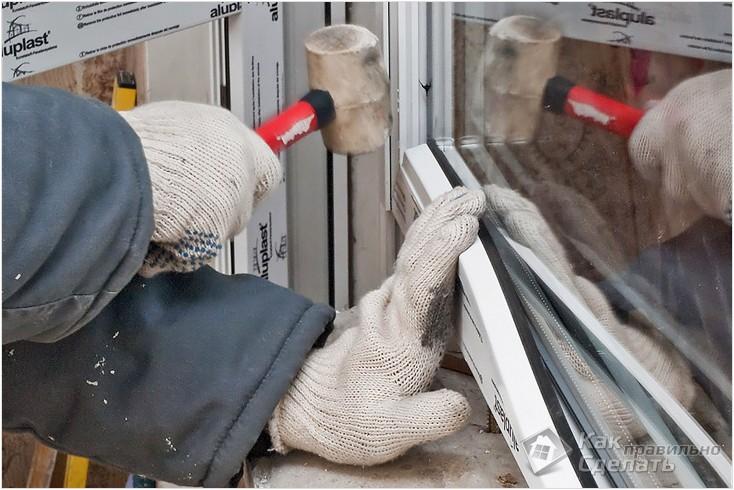 Все просто —  Как правильно вставить пластиковые окна  || STROIM-GRAMOTNO.RU