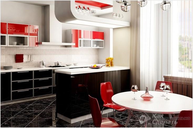 Все просто —  Как совместить кухню и столовую  || STROIM-GRAMOTNO.RU