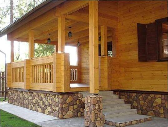 Все просто —  Крыльцо деревянного дома – украшение или необходимость  || STROIM-GRAMOTNO.RU