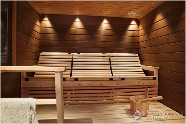Все просто —  Мебель для бани своими руками  || STROIM-GRAMOTNO.RU