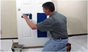 Все просто —  Покраска межкомнатных дверей – как сделать это правильно  || STROIM-GRAMOTNO.RU