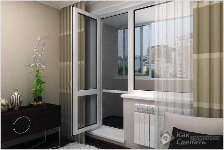 Все просто —  Регулировка балконной двери своими руками  || STROIM-GRAMOTNO.RU