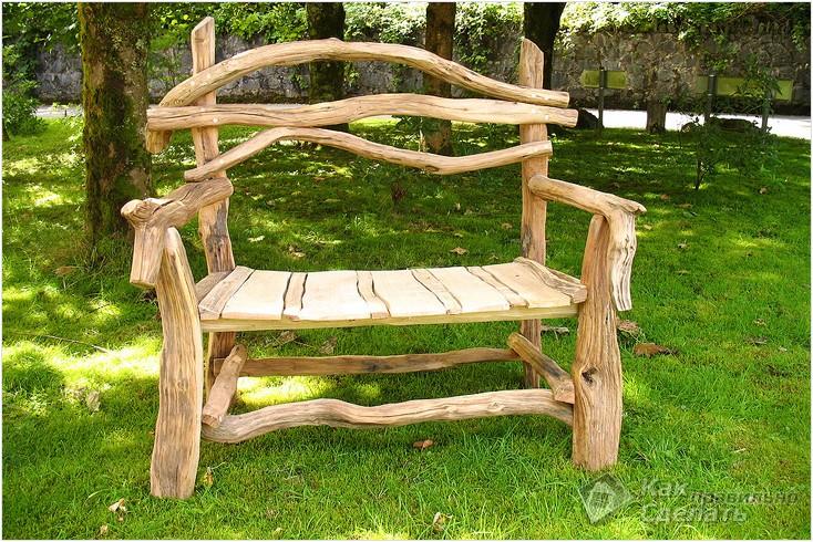 Все просто —  Садовая мебель своими руками  || STROIM-GRAMOTNO.RU
