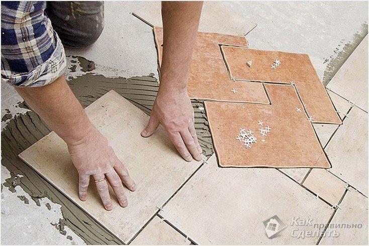 Все просто —  Укладка керамической плитки своими руками  || STROIM-GRAMOTNO.RU