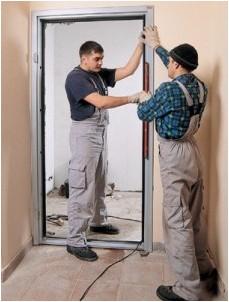Все просто —  Установка железных входных дверей: инструкция по применению  || STROIM-GRAMOTNO.RU