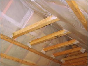 Все просто —  Утепление крыши в деревянном доме – самый эффективный способ сберечь тепло  || STROIM-GRAMOTNO.RU