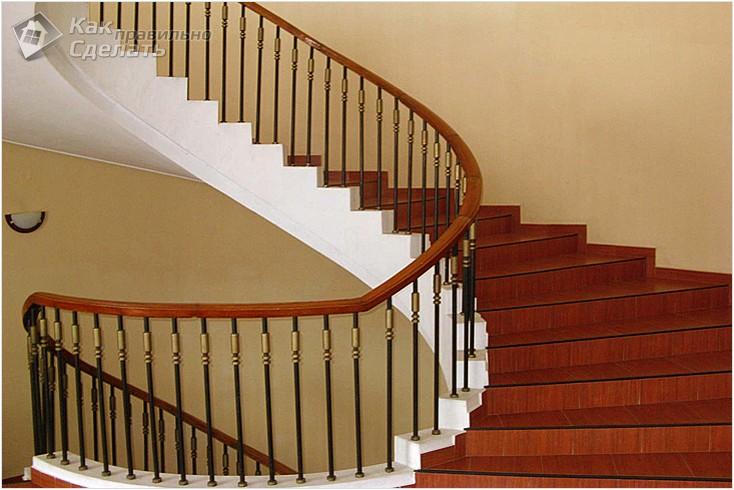 Все просто —  Винтовая лестница своими руками  || STROIM-GRAMOTNO.RU
