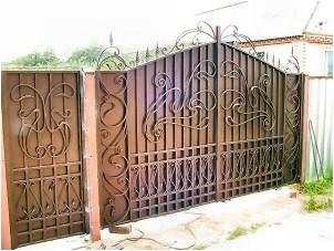 Все просто —  Ворота кованые своими руками делаем правильно  || STROIM-GRAMOTNO.RU