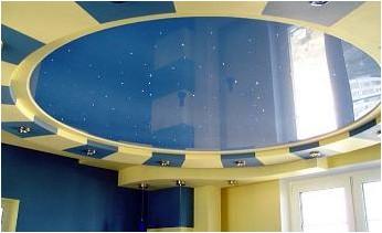 Все просто —  Выбор натяжного потолка и освещения комнаты  || STROIM-GRAMOTNO.RU