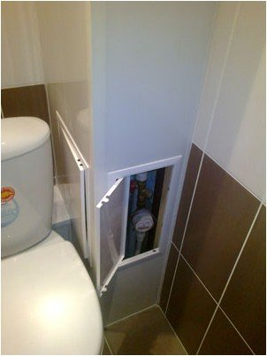 Короб в туалет своими руками