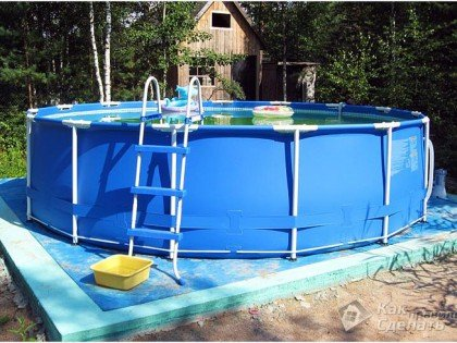 Все просто —  Каркасный бассейн своими руками  || STROIM-GRAMOTNO.RU